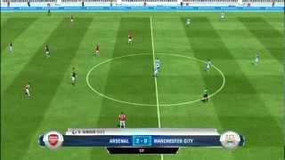 FIFA 13 Demo PC Gameplay HD Arsenal vs Manchester City