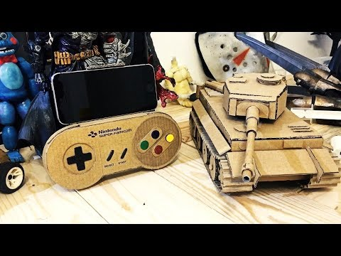 Wow! How To Make Nintendo Controller for iphone from cardboard || Nintendo switch from Carbord