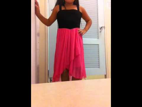 help me pick the perfect dress for my 5th grade graduation - YouTube