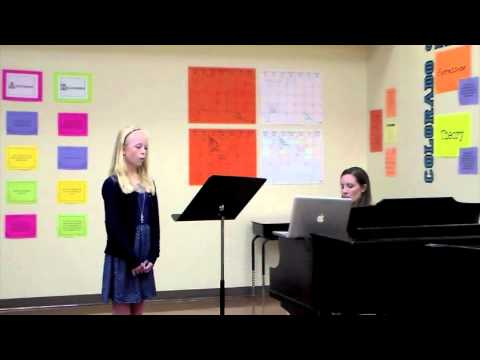 Colorado Middle All State Choir Audition Tutorial 2014 2015