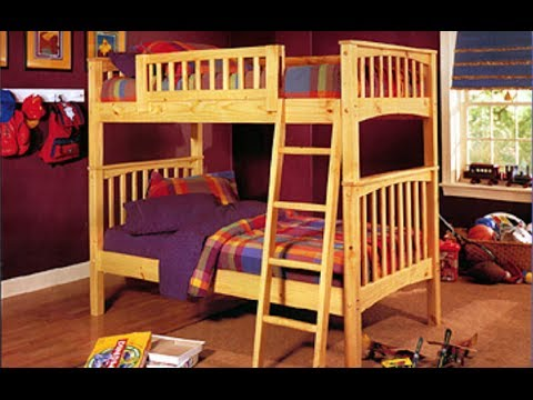 bunk bed plans how to build a bunk bed with plans blueprints diagrams instructions and more. Black Bedroom Furniture Sets. Home Design Ideas