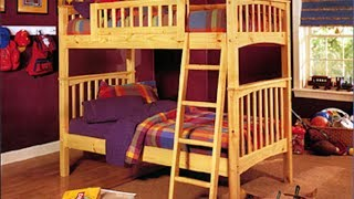 Bunk Bed Plans - How To Build A Bunk Bed With Plans,Blueprints,Diagrams,Instructions And More