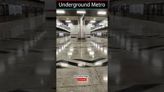 Underground Metro Train | Delhi Metro | Lifeline of Delhi 😍 | Metro Status #shorts #youtubeshorts screenshot 4