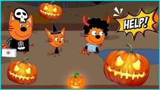 Kid-E-Cats 🎃 Special Halloween Edition | Animal Doctor Games (DEVGAME)