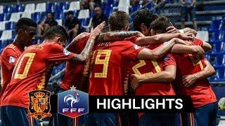 Spagna vs Francia 4-1 Highlights & Goals HD 2019 (Under 21)