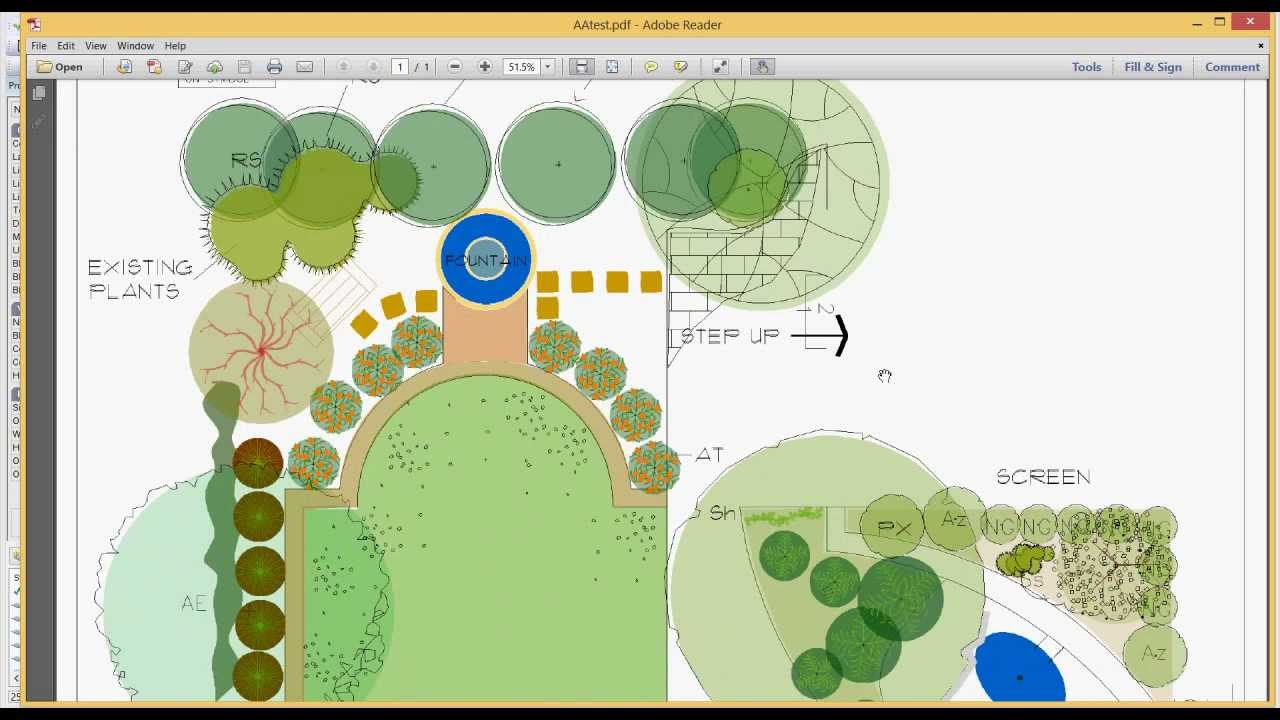 Using The SaveToPDF Feature In Landscape CAD Drawings Design Cad