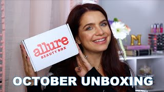 OCTOBER ALLURE BEAUTY BOX UNBOXING 2020