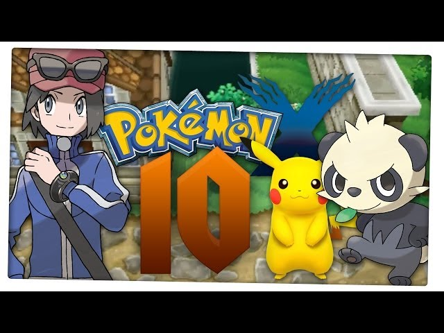 Let's Play Pokemon X Part 10: Überraschung, Team-Mitglied 2! Reisenvideo