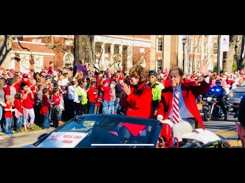 Alabama football national championship celebration (2018 Parade)