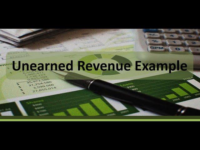 Adjusting Entries: Unearned Revenue