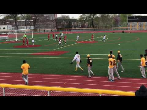 Grover Cleveland HS : Complete soccer game of 4/27/17