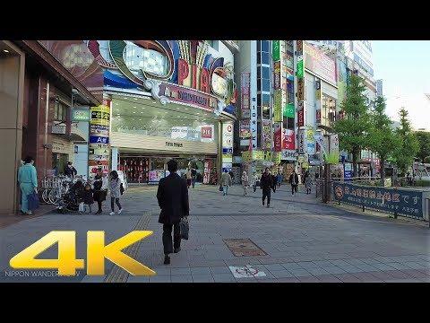 Walking around Hachioji, Tokyo - Long Take【東京・八王子】 4K