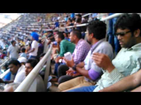 Sachin Sachin chant in 200th Test at Wankhede