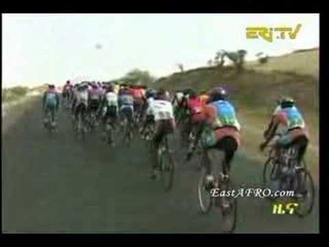 Tour of Eritrea 2008 Cycling Race Begins (Total 1178 km)