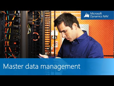 Microsoft Dynamics NAV - Master Data Management