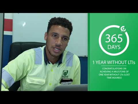 Carib Cement 365 days without LTIs