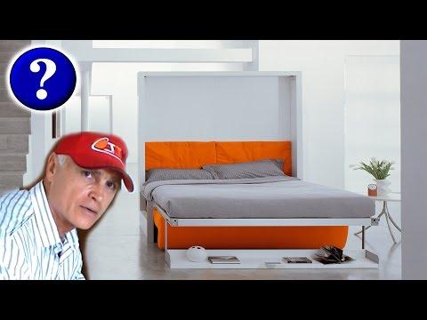 Сделать подъемную кровать шкаф
