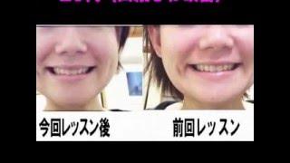 加圧式顔筋トレの改善例いつれもトレーニング期間一ヶ月前後.