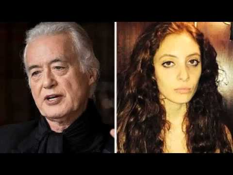 Jimmy Page and Scarlett Sabet Dating You Won't Believe Their Age Difference