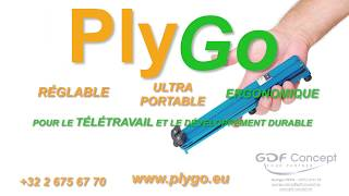 PlyGo Advert On BX1 Brussels Channel