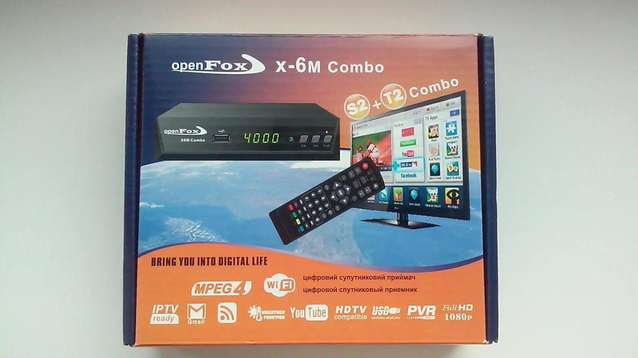 OpenFox S2 X-6 METAL COMBO - SatSat info