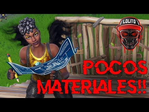 💀 ¡POCOS MATERIALES SON SUFICIENTES! 💀 ~ FORTNITE