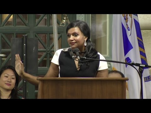 Mindy Kaling's Speech at Harvard Law School Class Day 2014