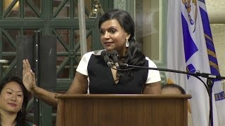 Mindy Kaling's Speech at Harvard Law School Class Day 2014(Comedian, actress, writer and producer Mindy Kaling at Harvard Law School's 2014 Class Day ceremony., 2014-05-29T21:36:34.000Z)