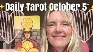 Daily Tarot October 5,  2018 ~ Venus in Retrograde