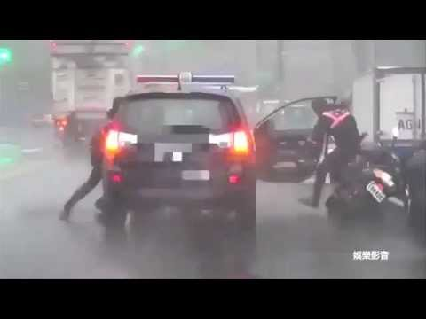 Three dead after 'super typhoon' batters Taiwan
