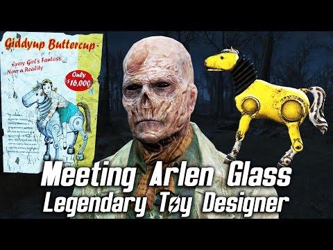 Fallout 4 - Meeting Arlen Glass, Legendary Pre-War Toy Designer