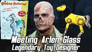 Fallout 4 - Meeting Arlen Glass, Legendary Pre-War Toy Designer