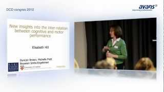 DCD Congres 2012 | Intelligence and Motor Development - Elisabeth L. Hill, PhD, C.Psychol.