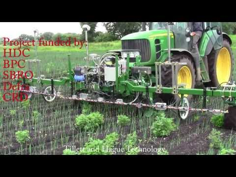 Computer Vision Guided Spot Spray Weeder
