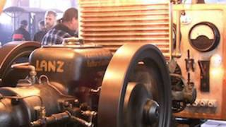 Lanz Bulldog Stationärmotor Mit Generator / Old Stationary Engine