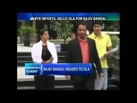 Ex-Infoscion Rajiv Bansal Drives Into OLA