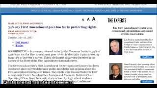 """Understanding the """"Freedom of Speech"""" in the United States"""