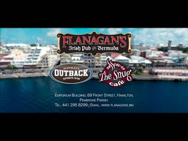 Flanagan's, Outback & The Snug Bermuda!