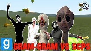 CAN GRAM-GRAM SURVIVE THE SCPS? - Garry's Mod Sandbox