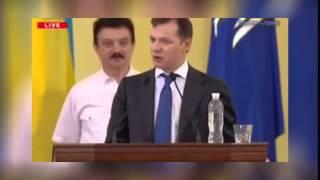 Украина. Ляшко не дал Кличко завершить выступление...