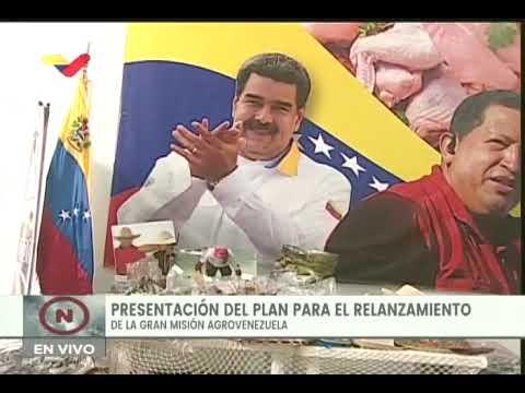 Presidente Nicolás Maduro relanza la Gran Misión AgroVenezuela, 22 de julio de 2020