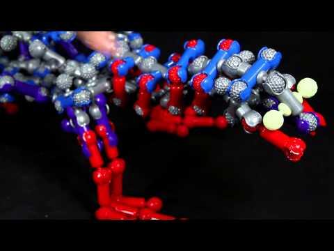 ZOOB 250 Piece Glow Dinos (0Z14004TL)