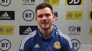 Andy Robertson's Thank You Message To Scotland Fans   UEFA EURO 2020 Qualification