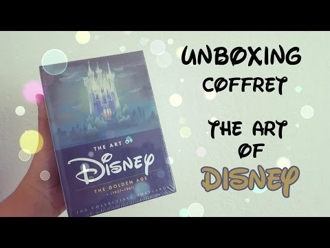 """UNBOXING """" The art of disney   Golden age"""""""