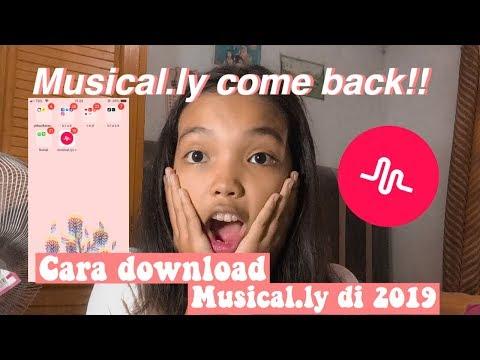 MUSICAL.LY COME BACK!!! CARA DOWNLOAD MUSICALLY DI TAHUN 2019 || ITSME GITA
