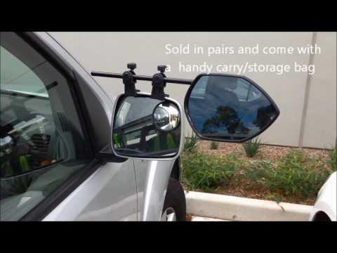 Milenco Falcon Towing Mirror