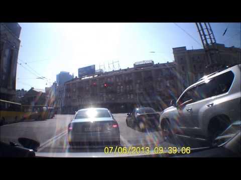 Езда по Киеву - Driving in Kiev 06