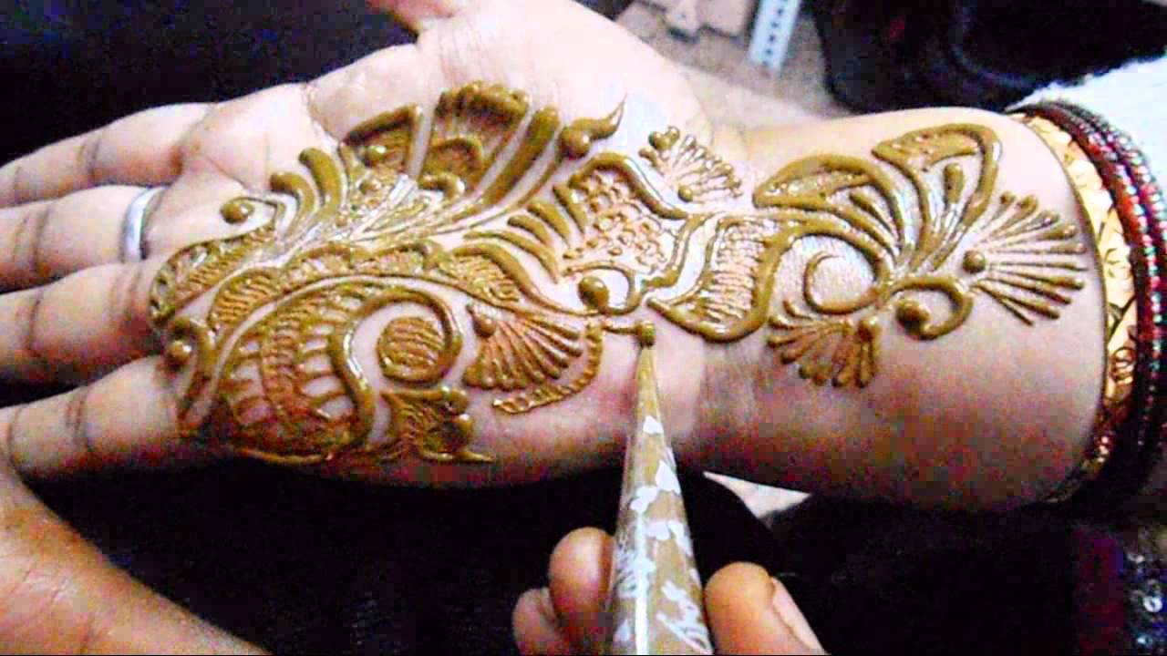 Mehndi Designs With Black Cone : Simple mehendi pattern for beginners classes latest youtube