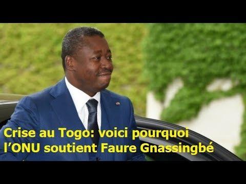 Crise au Togo : voici pourquoi l'ONU soutient Faure Gnassingbé