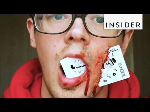SFX Artist Makes the Most Gruesome Fake Wounds